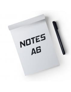 Notesy klejone A6