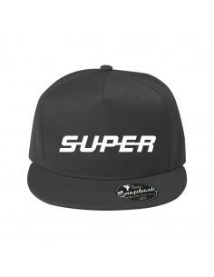 Super- snapback cap