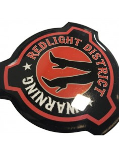 Red light - 3D sticker scania