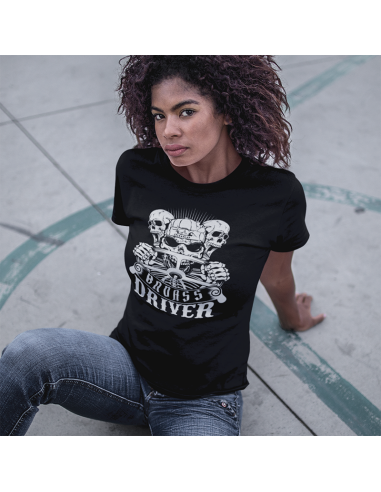 Badass driver - women's t-shirt